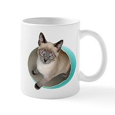 Kitten Blue Egg Small Mug