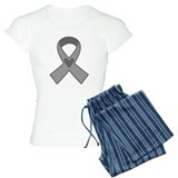Gray Ribbon Awareness pajamas