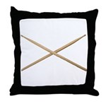 DRUMSTICKS III Throw Pillow