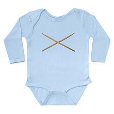 DRUMSTICKS III™ Long Sleeve Infant Bodysuit