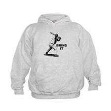 Baseball Batter Bring It Hoody