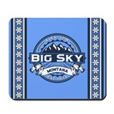 Big Sky Blue Mousepad
