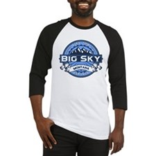 Big Sky Blue Baseball Jersey