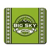 Big Sky Green Mousepad