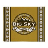 Big Sky Tan Throw Blanket