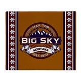Big Sky Vibrant Throw Blanket