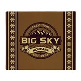 Big Sky Sepia Throw Blanket