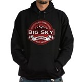 Big Sky Red Hoodie