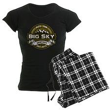 Big Sky Olive pajamas