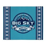 Big Sky Ice Throw Blanket