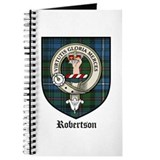Robertson Clan Crest Tartan Journal