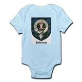 Robertson Clan Crest Tartan Infant Creeper