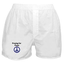 Cute World day of prayer Boxer Shorts