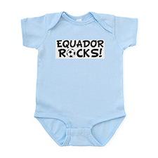 Ecuador Rocks! Infant Creeper