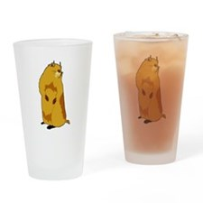 dramatic look gopher Drinking Glass