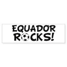 Ecuador Rocks! Bumper Bumper Sticker