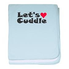 Let's Cuddle baby blanket
