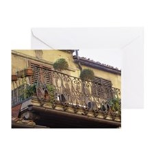 Balcony in Tuscany Greeting Cards (Pk of 10)