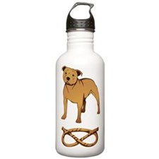 Fawn Staffordshire Sports Water Bottle