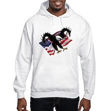USA Bald Eagle Dragon Hoodie