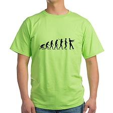Evolution of Man - Zombie T-Shirt
