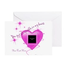 Heart Sparkle Greeting Card