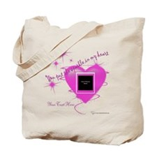 Heart Sparkle Tote Bag