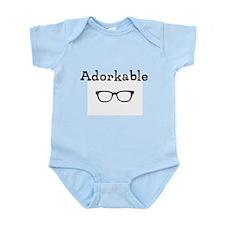 Adorkable - Glasses Infant Bodysuit