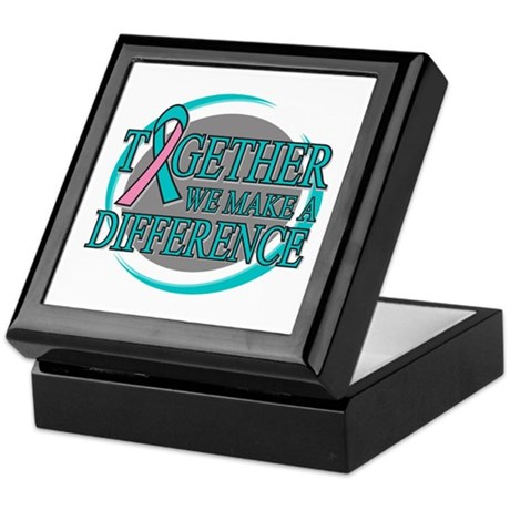 Hereditary Breast Cancer Support Keepsake Box
