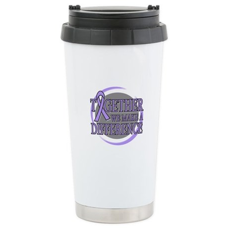 General Cancer Support Ceramic Travel Mug