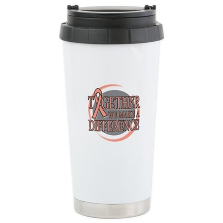 Endometrial Cancer Support Ceramic Travel Mug