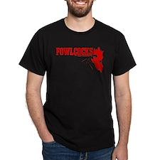 Fowlcocks Black T-Shirt