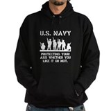 Navy Protect Hoody