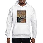 Winter's Wild Swans Hooded Sweatshirt