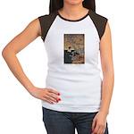 Winter's Wild Swans Women's Cap Sleeve T-Shirt