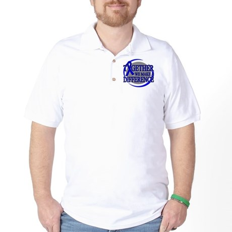 Colon Cancer Support Golf Shirt