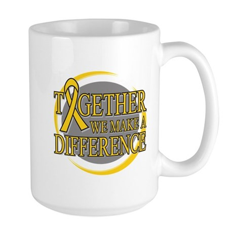 Childhood Cancer Support Large Mug