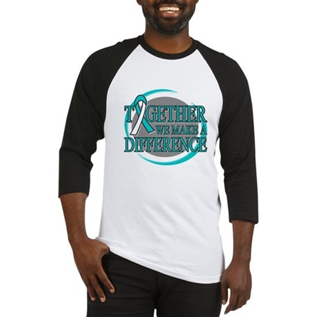 Cervical Cancer Support Baseball Jersey