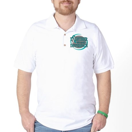 Cervical Cancer Support Golf Shirt