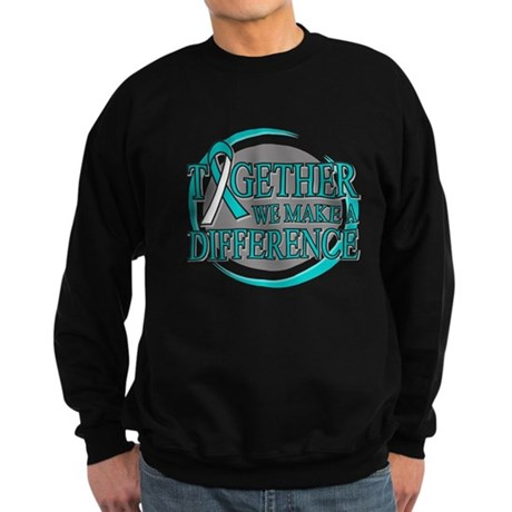 Cervical Cancer Support Sweatshirt (dark)