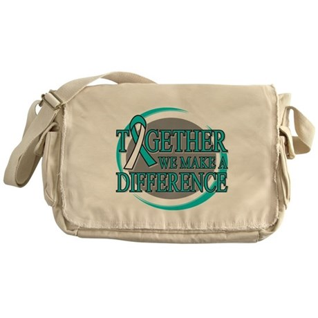 Cervical Cancer Support Messenger Bag