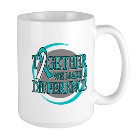 Cervical Cancer Support Large Mug