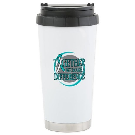 Cervical Cancer Support Ceramic Travel Mug
