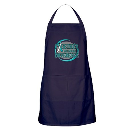 Cervical Cancer Support Apron (dark)