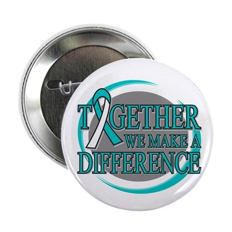 "Cervical Cancer Support 2.25"" Button"