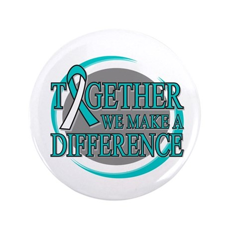 "Cervical Cancer Support 3.5"" Button"