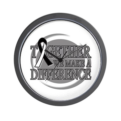 Carcinoid Cancer Support Wall Clock