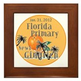 Gingrich Florida Framed Tile