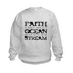 Faith is Knowing V2 Kids Sweatshirt