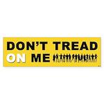 Don't Tread On Me Sticker (Bumper)